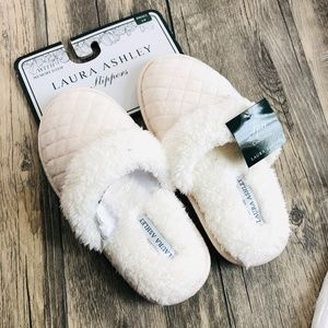 Laura Ashley | Womens Slippers Size Small